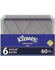 Kleenex Everyday Tissues Wallet - 6 10-count packs