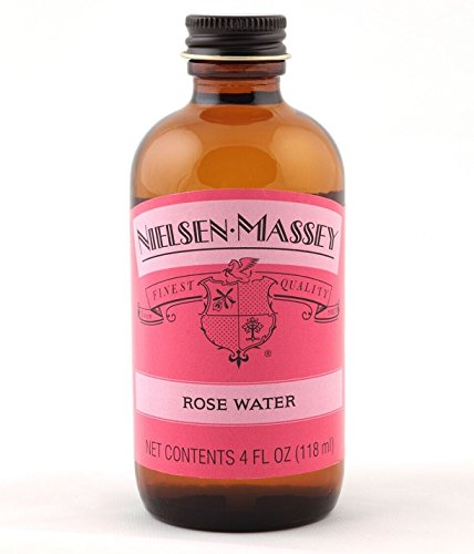 Nielsen-Massey Vanillas, Rose Water, 4 oz
