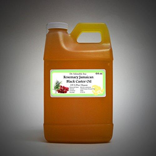Rosemary Jamaican Black Castor Oil Premium Best Natural 1...