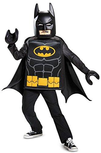 Batman LEGO Movie Classic Costume, Black, Medium (7-8)