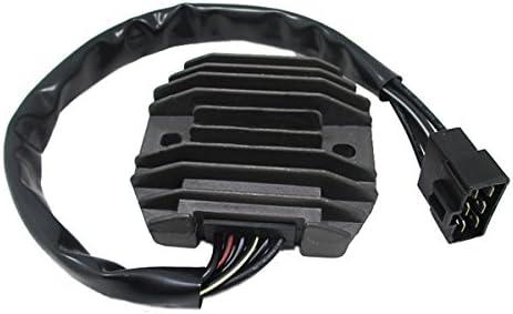 Alamor Motorrad Spannungsregler Gleichrichter f/ür Kawasaki Ninja VN400 VN800