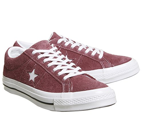 deep white Bordeaux Lifestyle Unisex Rojo Adulto white Ox Star Converse Zapatillas 625 One WHqcngOOw8