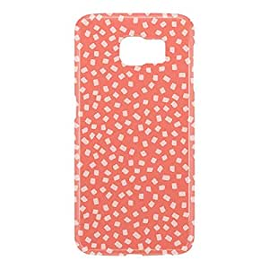 Loud Universe Samsung Galaxy S6 3D Wrap Around Confetti Pattern Print Cover - Pink