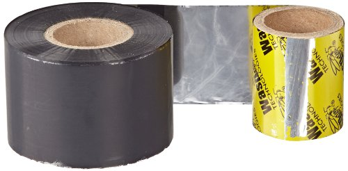 Wasp WWX General Purpose Wax Barcode Label Ribbon for WPL305/606 Printers, 820' Length x 1-9/16