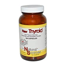 Natural Sources Raw Thyroid 180 Caps