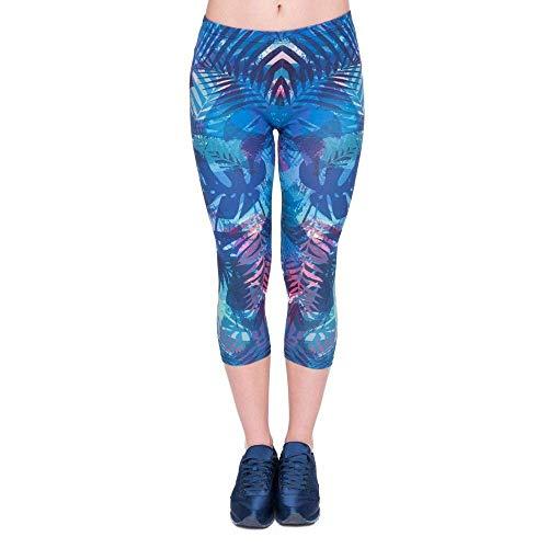 Pantalones De Yoga Verano Mujeres Capri Leggings Bastante ...