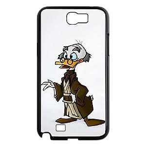 Disney Ludwig Von Drake Samsung Galaxy N2 7100 Cell Phone Case Black persent xxy002_6830164