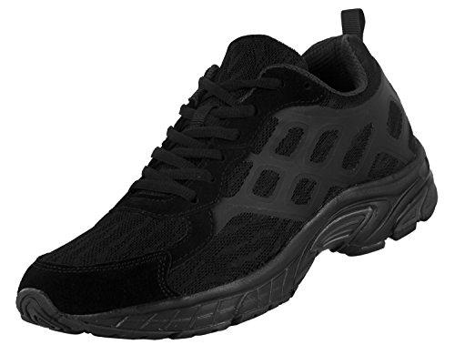 iLoveSIA+Men%27s+4188+Leisure+Sport+Running+Mesh+Shoes+Black+US+7.5