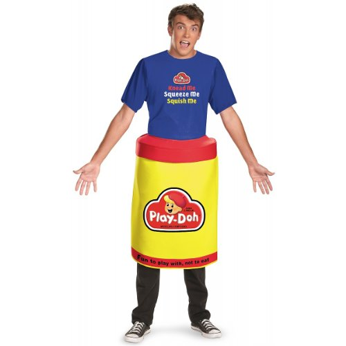 Play Doh Deluxe Costume - X-Large - Chest Size (Playdoh Costume)