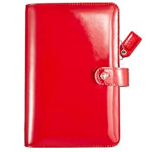 Webster's Pages Patent Red Color Crush Personal Planner Kit (CCPK001-PTR)