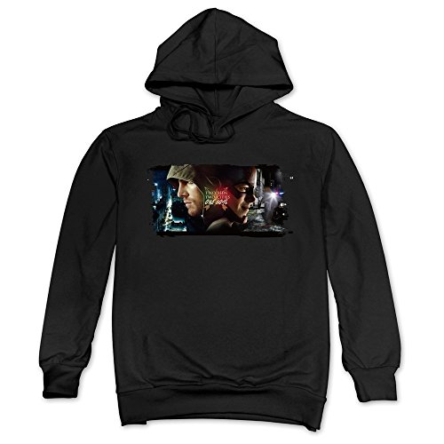 MAGGO The Arrow Flash Handsome Wallpapers Hoodies Mens Black (Arrow Season 3 Episode 5)