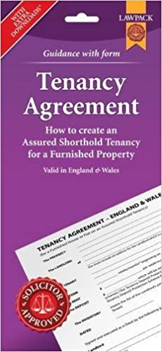 Furnished Tenancy Agreement Form Pack England And Wales