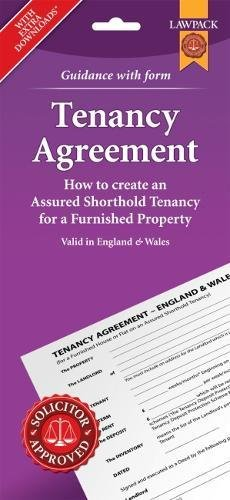 [D.O.W.N.L.O.A.D] Furnished Tenancy Agreement Form Pack: How to Create an Assured Shorthold Tenancy for a Furnished Pr T.X.T