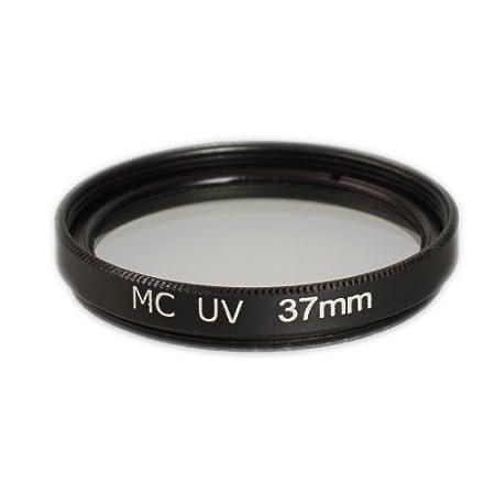 para Canon Sony Nikon Leica Fujifilm Panasonic Pentax Sigma Tamron Pentax Marco de Aluminio y Vidrio /óptico 49mm Filtro UV MC Resistente a los ara/ñazos y Repelente al Agua