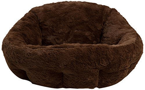 41Rt PqGb4L - Best Friends by Sheri DPD-LUX-DRK Deep Dish Cuddler in Lux, Dark Chocolate, One Size