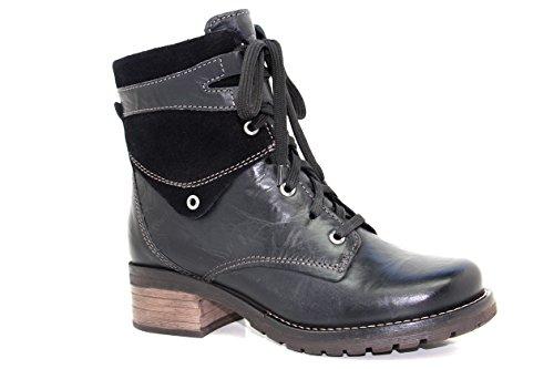 Dromedaris Womens Kara Boot, Black Suede Top, EU 42M