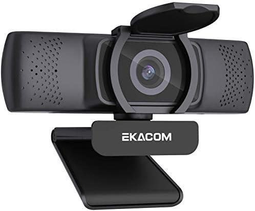 Webcam con microfono, ekacom 1080p full hd streamcam con autofocus a 30 fps, webcam usb A521