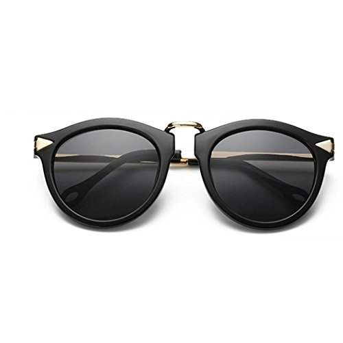 Forthery Cat Eye Polarized Mirrored Flat Lenses Classic Metal Frame Women Sunglasses - Wear Eyes Sunglasses A Protect I To