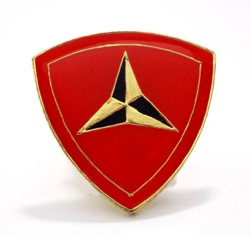 3rd Marines Infantry Division USMC EGA Lapel Hat Pin Military ()