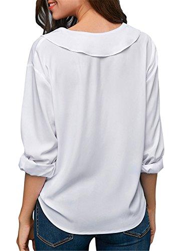 Donna White Camicia Camicia FIYOTE Camicia White FIYOTE Donna White White Donna Camicia Donna FIYOTE FIYOTE U8UwtqAp
