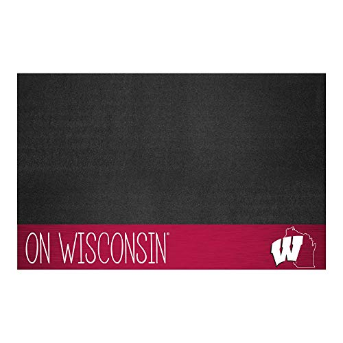 NCAA University of Wisconsin Badgers Grill Mat Tailgate Accessory