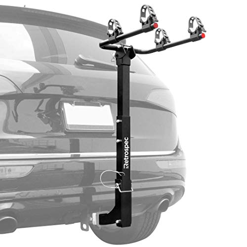 (Retrospec Lenox Car Hitch Mount Bike Rack with 2-Inch Receiver; 2 Bicycle Carrier)