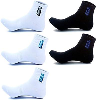 zhaoaiqin 5 pares, algodón, calcetines de los hombres, 100 ...