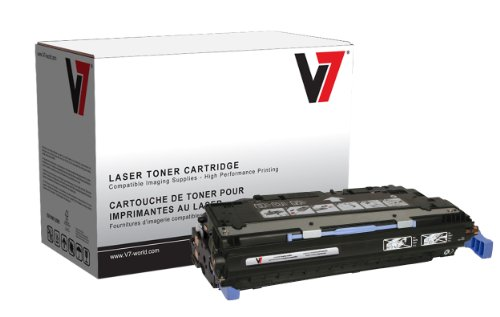 - V7 V7353700B Remanufactured Black Toner Cartridge for HP Q2670A (HP 308A) - 6000 Page Yield