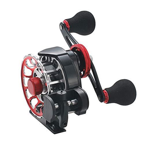 SH-QIAN Carrete De Pesca Rueda Delantera Relación De Velocidad 3.6: 1 Cable Automático Peso Ligero 10 + 1 Rodamiento Suavizar Pesca De Tiro Largo,Lefthand por SH-QIAN