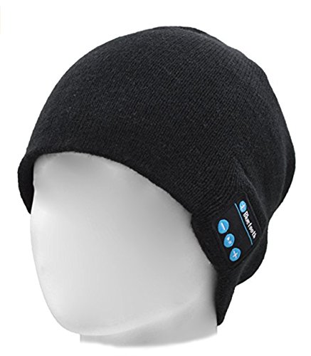 b33ae9d40b5 Galleon - 2ME Bluetooth Beanie Wireless Bluetooth Music Hat Knit Cap With  Built-in Headphones   Mic For Winter Hands-free Daily Use