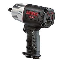 AIRCAT 1150 Killer Torque 1/2-Inch Impact Wrench, Black