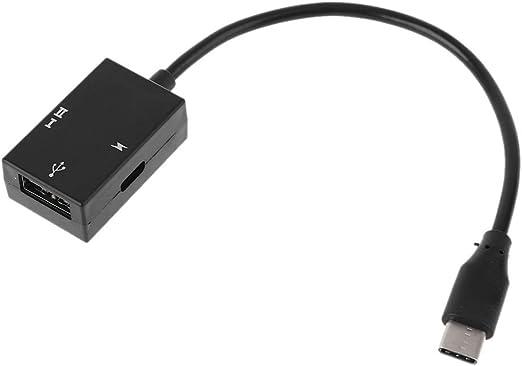 OTG Adaptador de cable de Aisumi USB 3.1 C a USB 2.0 OTG Cable ...