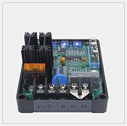 Amazon com: Brushless alternator parts 8A AVR Generator Automatic