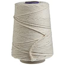 Regency Wraps Natural Cooking Twine 1/2 Cone 100-Percent Cotton