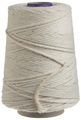 - Regency Natural Cooking Twine 1/2 Cone 100% Cotton 500ft