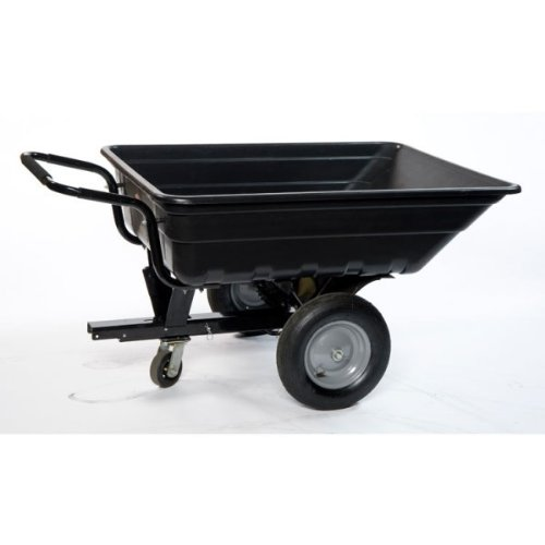 LawnBoss: TURFMASTER, remolque / carretilla basculante para tractor, cortacésped o quad (250 kg): Amazon.es: Jardín