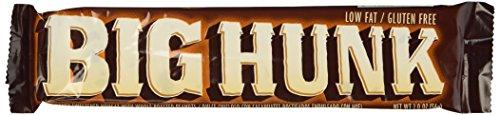Big Hunk Candy Bars 24CT Box 42.33 Ounce