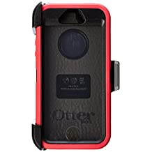 OtterBox DEFENDER SERIES Case for iPhone 5/5s/SE - Retail Packaging - RASPBERRY (BLACK/RASPBERRY PINK) (Discontinued by Manufacturer)