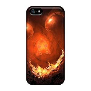 Ideal Case For Sam Sung Galaxy S5 Mini Cover (flames Monster), Protective Stylish Cases Black Friday