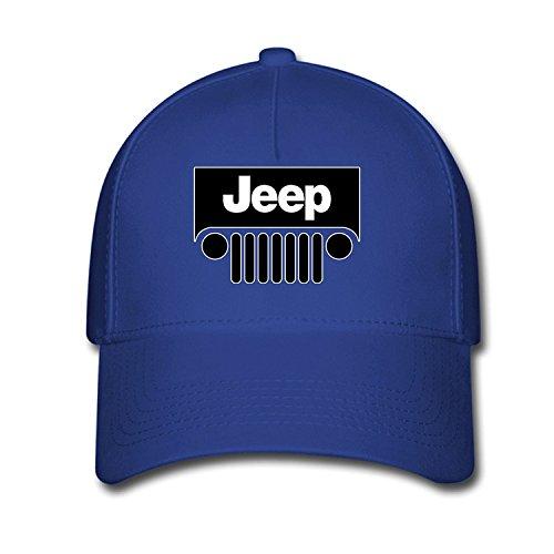 Price comparison product image DEBBIE Unisex Jeep Logo Baseball Caps Hat One Size Blue