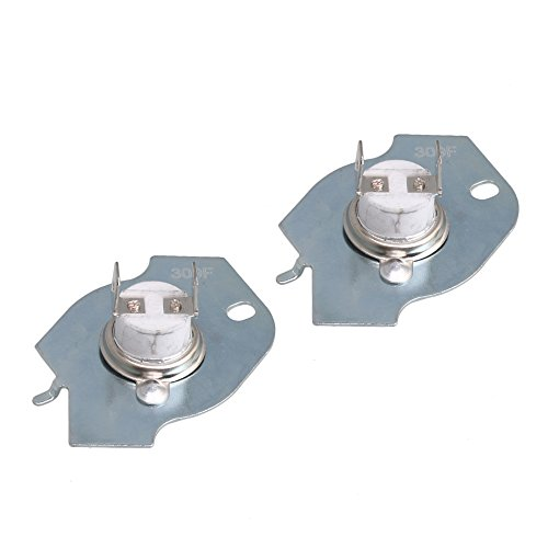 RDEXP WP3977393 Dryer Thermostat Thermal Fuse Limit Switch Kit Repace 3399848 3977393 AP3094244 Dryer Set of 2 ()