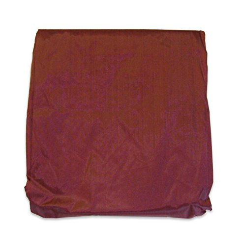 Wine 8 ' Foot Rip Resistant Nylon Pool Table Billiard Cover W Elastic Corners ()