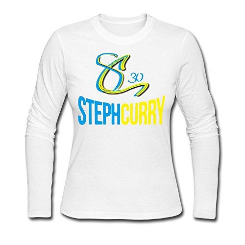 fan products of Women's Curry Basketball Logo T-shirts White S