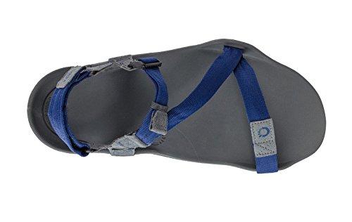 Xero Skor Z-trek Minimalistiska Sandal - Barfota Vandring, Spår, Kör Sport Sandaler - Mens Kol / Patriot Blue