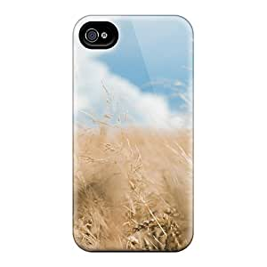 New Diy Design Rye Field For Iphone 4/4s Cases Comfortable For Lovers And Friends For Christmas Gifts