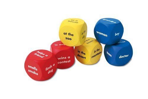 Learning Resources Soft Foam Story Starter Cubes