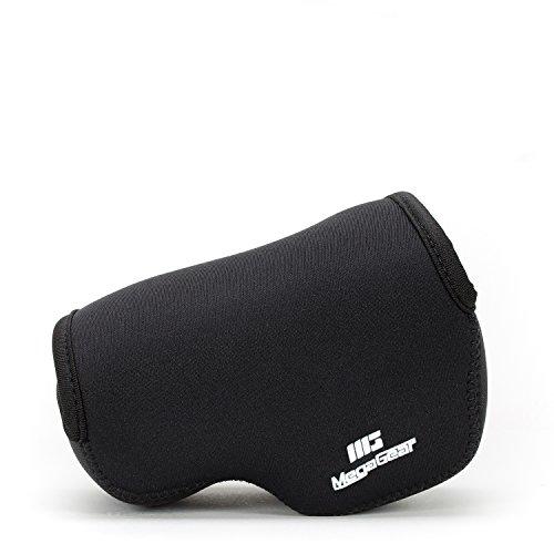 MegaGear 'Ultra Light' Neoprene Camera Case Bag for Sony NEX-6, Sony NEX-7, Sony NEX-F3 with 16-50mm Lens (Black)