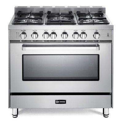 Verona 36″ All Gas Single Oven Range (VEFSGG365NSS) – Stainless Steel