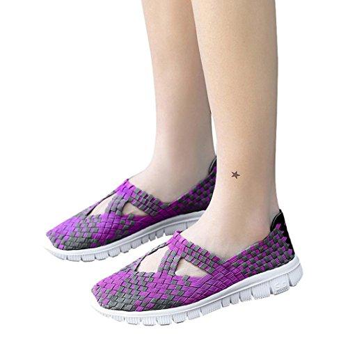 Tessuto Viola da in Primo Scarpe Casual Promozione Traspirante Casual Sneaker Giorno Donna Piattaforma Sportive Grande Corsa Scarpe Stringate Scarpe Stringate Suole Comode Comode BaZn4q5nxH