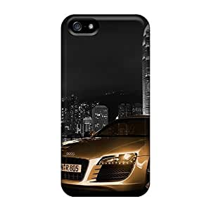 5/5s Scratch-proof Protection Case Cover For Iphone/ Hot Golden R8 Phone Case